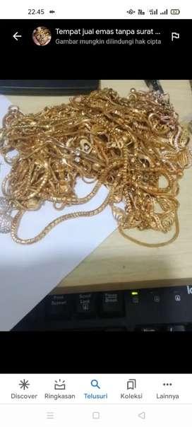 Beli emas tampa surat/ dari toko lain