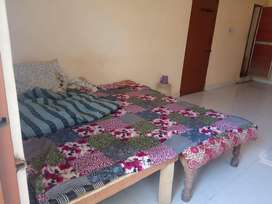 Semi Furnished Independent One Room with Attach Balcony, Toilet in4500