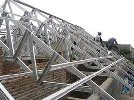 Rangka atap rumah