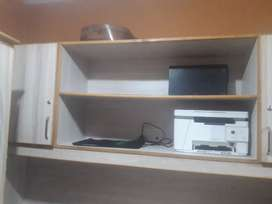 Full size 3 Tablets with cabinets Almari