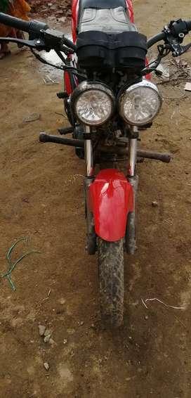 Fully altrationed double doom race bike