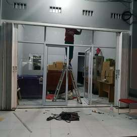 Kusen Pintu kaca pintu kamar mandi pintu sliding skat ruangan