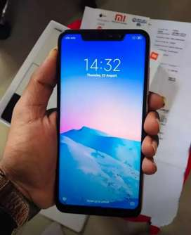Redmi note 6 Pro 6gb ram 64 GB internal memory card