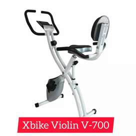 sepeda statis magnetik xbike  V-128 alat fitnes olahraga