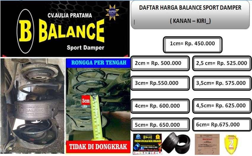 solusi ATASI mobil yg LIMBUNG, yuk pasang BALANCE Sport Damper 0