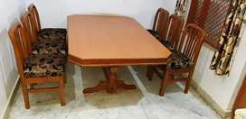 6 month old Wooden dining table