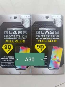 Tempered premium 3D Full Glue Samsung A30