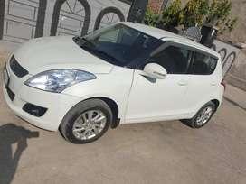 Maruti Swift Diesel 2014 model single hand 91500 km white color