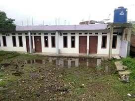 Bangunan Kontrakan 5 Unit di Area Tanah Luas di Batujajar KBB