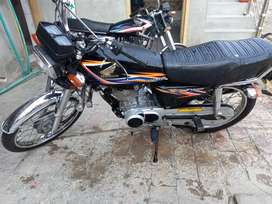 Honda 125 Motor Cycle Model 2018