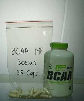 BCAA Capsul Eceran (MP dan Mutant). Suplemen Palembang