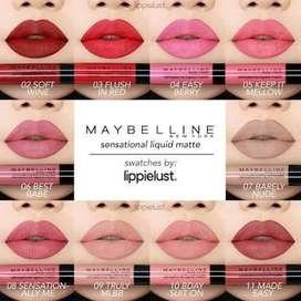 READY Maybelline Sensational Lipmatte 45rb ORIGINAL OUTLET MAYBELLINE
