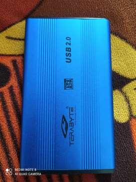 500GB Hard drive with hard case
