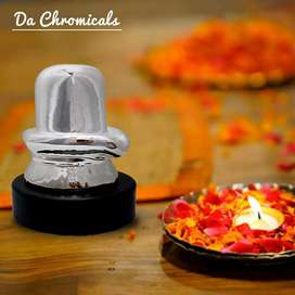 1gm Silver Coated Shivling