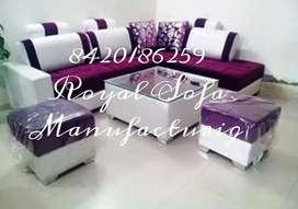 new L shape sofa beautiful colour combination