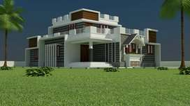 1380 sq ft 3 bhk new house for sale
