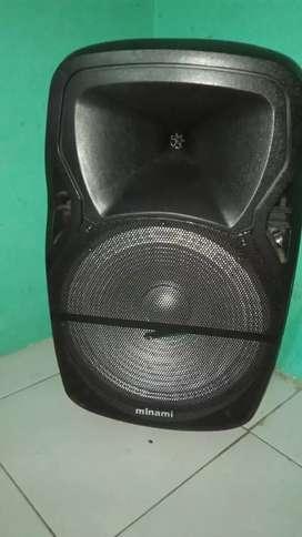 Jual Cepat Speaker MINAMI Suara Mantap Joss 100%