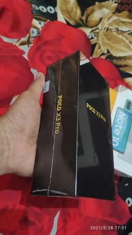 POCO X3 PRO SNAPDRAGON 860 RAM 6GB+128GB NEW SEGEL BOX GARANSI RESMI