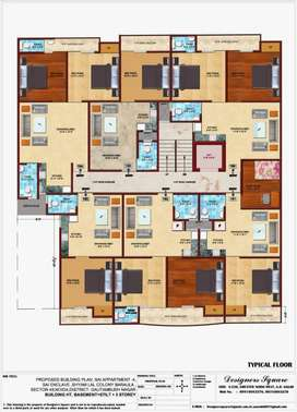 Free Hold Fully Furnished Flat Only 20 Lac