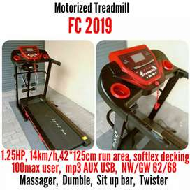 TREADMILL MOTORIZED DC MURAH