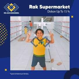 BIG PROMO - Rak Minimarket Rak Gondola Toko Rak Gudang Meja Kasir