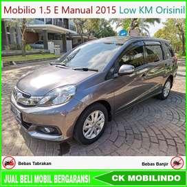 [Dp23jt] Mobilio 1.5 E Manual 2015 Low Km Orisinil Bisa Kredit