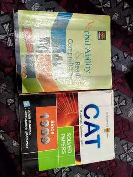 GRB OBJ CHEMISTRY,Verbal ability &reasoning(arihant),CAT solve papar s