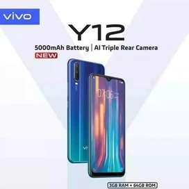 Murah new Vivo y12 3/32 bs kredit bunga 0%