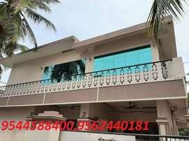 5 cent plot with  2700 sq.ft 4BHK house in kollam kadappakada