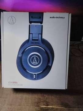Audio-Technica ATH M40X Professional Studio Monitor Overear Headphones