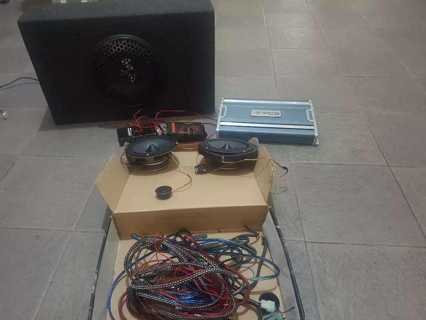 Paket Audio mobil lengkap , kondisi masih bagus dan mulus 0