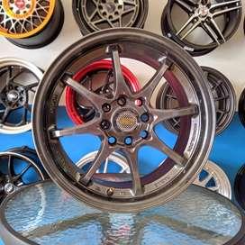Rays Racing 15x7 H8 100 114.3 +35 untuk mobil BRIO XENIA--