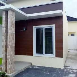 Rumah Ready Minimalis Tipe 50 Cakep Di Bukit Barisan Kota Pekanbaru