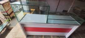 Mobile shop cash counter table available.