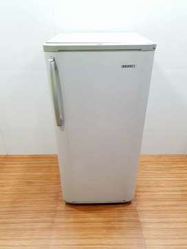 Samsung silver single door 190 liter refrigerator