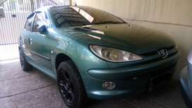 Peugeot 206 sporty 2002 AT Mulus