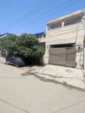 10 marla double storey semi commercial house for sale.