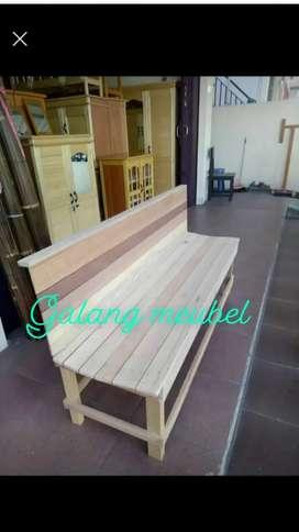 Kursi teras kayu meranti pj 150cm