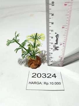 Fake plant untuk mempercantik kandang tarantula/serangga/lainnya (2)