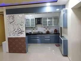 Kitchen cabinet and kitchen Trolley Wardrobes Manufacturer