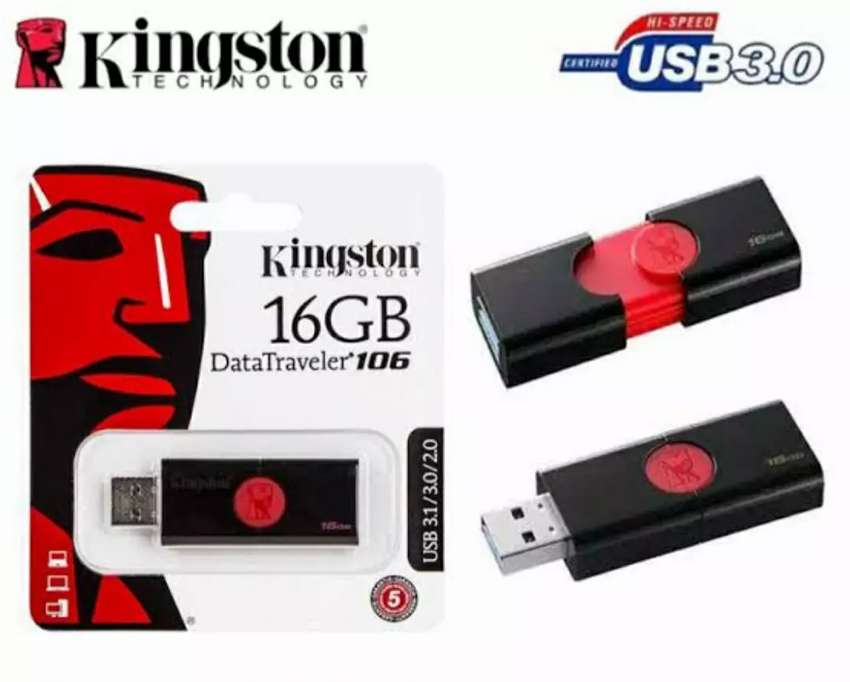 (flashdisk kapasitas 16gb) KINGSTON 16GB ORIGINAL 0