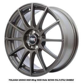 Velg Mobil Mazda 2, Matrix, Freed dll RIng 15 HSR TOLAMA