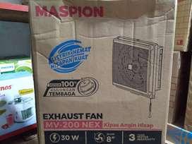 kipas angin hisap exhaust fan dinding maspion 8 inc 200nex-jantung acc