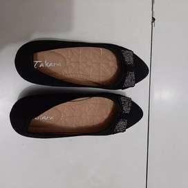 Sepatu wanita sepatu cewek wedges heels sepatu sport sepatu natal