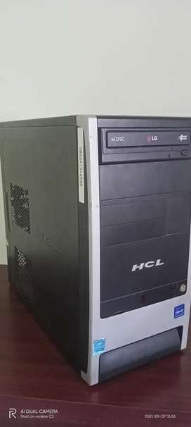 CPU (Intel Pentium G3240 , 8gb ram , 150gb HDD , ASUS H81 MCS)