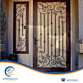 Tukang pasang teralis pintu, jendela, pagar,folding gate,roling tangga