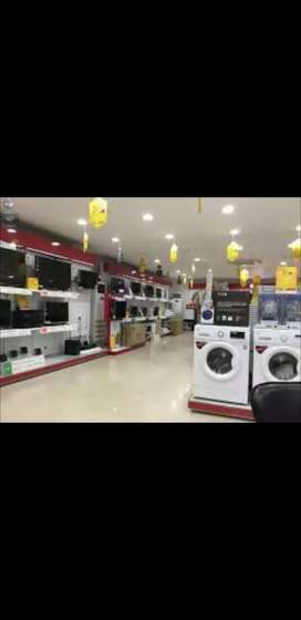 Wanted counter salesman for home appliances showroom