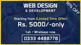 Wholesale ecommerce website online store android application Rs 7000