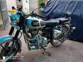 Royal Enfield Classic 350 Silver color