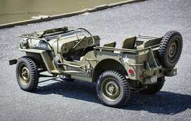 Army style modify open jeep